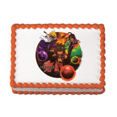 Bakugan Edible Cake Image Birthday Party NIP