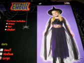 Mystical Witch Purple Sequin Costume Hat  New 4-6