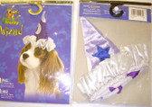 Wizard Witch Sorceress Dog Costume Hat L 50-75 lbs NIP