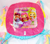 "Little Charmers Pink Purple Birthday Party Pinata Custom 15"" NEW"
