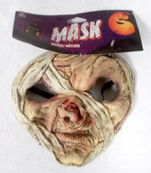 Caretas Rev Tan Mummy Costume Mask Adult OSFM NIP