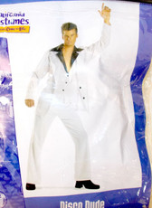 California Costumes Disco Dude Saturday Night Fever White Suit Costume Adult L XL NIP