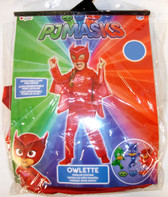 Disguise Pjmasks Red Pink Owlette Costume Jumpsuit Child 2T 3-4T 4-6X NIP