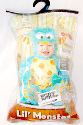InCharacter Lil' Monster Infant Unisex Costume 12-18M 18-24M NIP