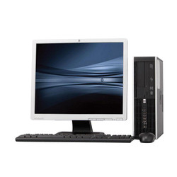 "HP 8000 Elite Desktop Computer Package, 19"" LCD, Core 2 Duo 3.00GHz Processor, Windows"