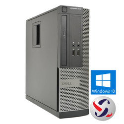 Dell OptiPlex  390 Desktop Computer, Intel Core i5 3.10GHz Processor, Windows 10