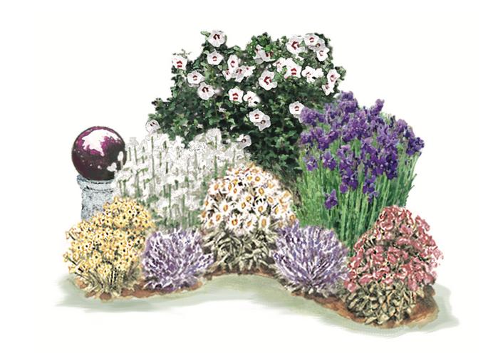 Pretty Perennial Garden