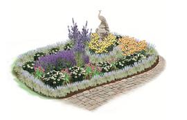 Sidewalk Splendor Garden