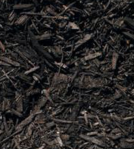 Premium Black Dyed Mulch