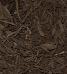 Premium Dark Chocolate Brown Dyed Mulch