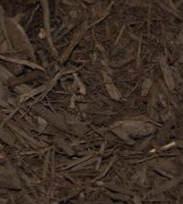 Premium Dark Chocolate Brown Dyed Mulch