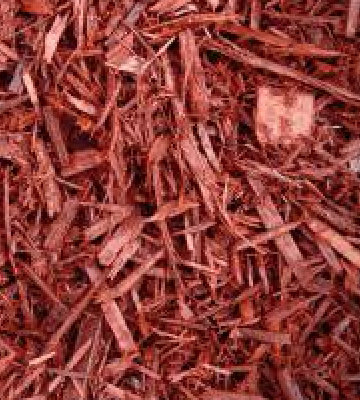 Premium Red Dyed Mulch