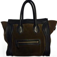 """Céline Suede """"Phantom"""" Handbag"""