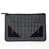"Fendi ""Bag Bugs"" Clutch"
