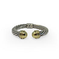 "David Yurman Hinged ""Cable Classics"" Bracelet"