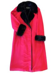 Bonnie Marino Bien Mink-Lined Coat