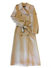 Burberry Tan Wool Coat