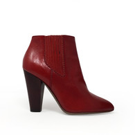 D&G Red Heeled Booties