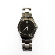 Movado Silver Watch