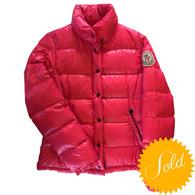Moncler Pink Down Jacket