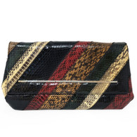 Marc by Marc Jacobs Snakeskin Clutch
