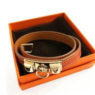 """Hermès """"Collier du Chien"""" Wrap Bracelet"""