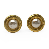 Karl Lagerfeld Clip Earrings
