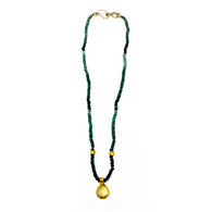 Nava Zahavi Emerald Necklace