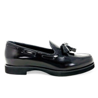 Tod's Black Loafers