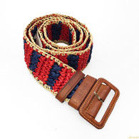 Prada Straw Belt