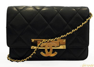 Chanel Quilted Mini Handbag