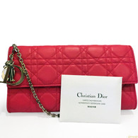 Dior Fuchsia Purse