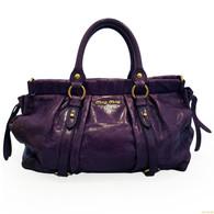 """Miu Miu """"Vitello Lux"""" Handbag"""