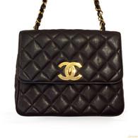 Chanel Brown Caviar Handbag