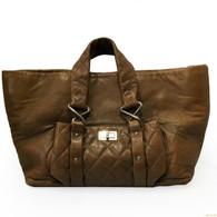 Chanel Walnut Brown Handbag