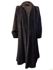 Revillon Silver Mink Coat