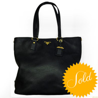 "Prada ""Borsa Shopping"" Handbag"