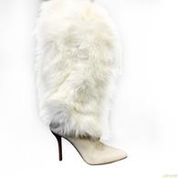 Helmut Lang Fur Boots