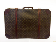 "Louis Vuitton Vintage ""Alzer 65"" Suitcase"