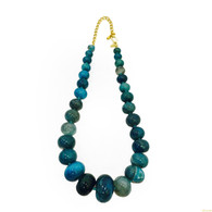 Kenneth Jay Lane Agate Necklace