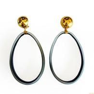 Alexis Bittar Large Lucite Hoops