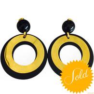 Marni Large Circle Earrings