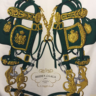 "Hermès Green ""Brides de Gala"" Scarf"