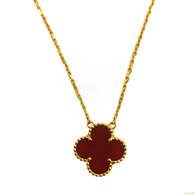 """Van Cleef & Arpels """"Alhambra"""" Necklace"""