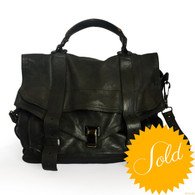 Proenza Schouler Black PS1 Large