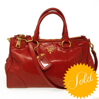 Prada Red Shopper