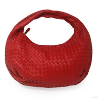 Bottega Veneta Red Small Hobo