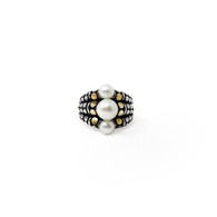 John Hardy White Pearl Ring