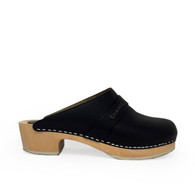 Chanel Leather Clog