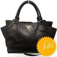 Prada Dark Chocolate Handbag